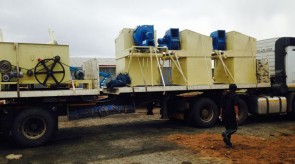 Another satisfied customer takeing delivery of filters aswell as various feedplant equipment
