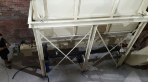 Moreson Batching scale being installed