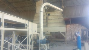 HM1200 Hammer mill being installed at existing plant at National Pride in Jan Kempdorp