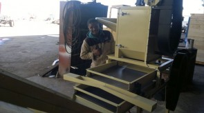 Miniture Thrasher still in our factory
