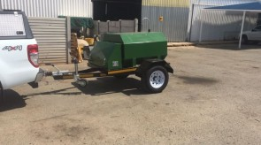 1000l Diesel trailer manufactured to customer specification